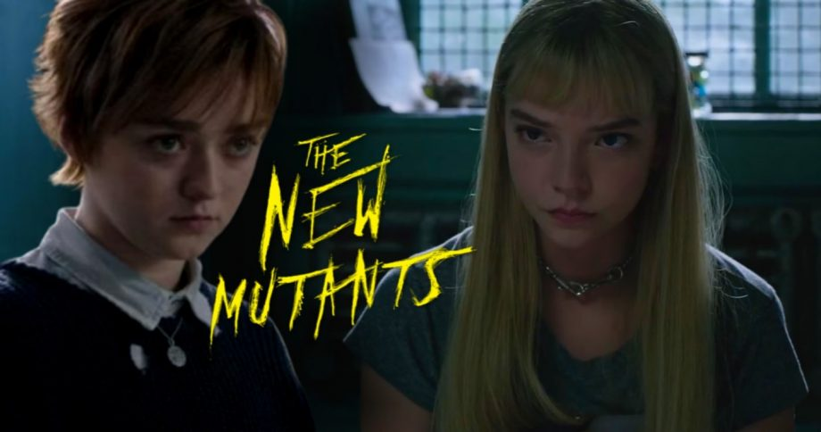 the new mutants Anya Taylor-Joy ve Maisie Williams