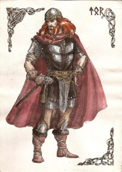 kızıl sakal thor