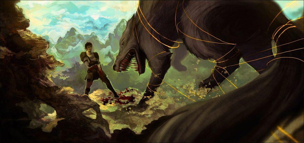 İskandinav Mitolojisi: Tyr, Tanrıların En Cesuru fenrir'in bağlanması
