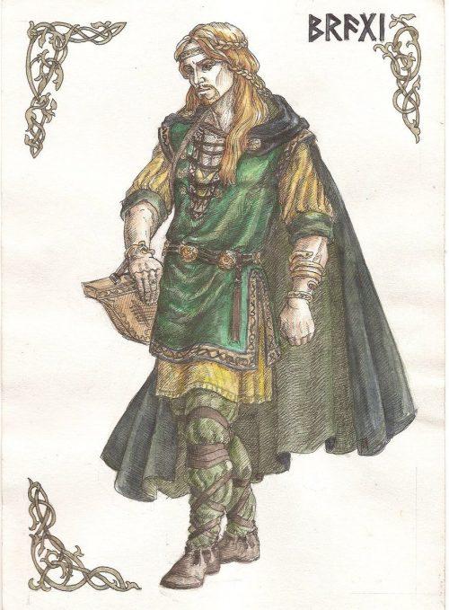İskandinav Mitolojisi bragi