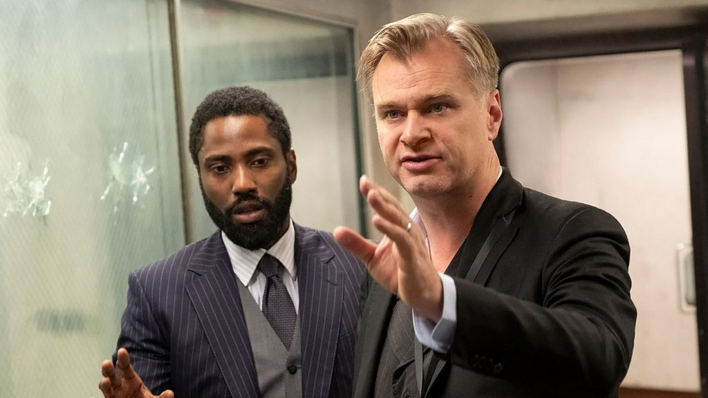 Christopher Nolan ve John David Washington