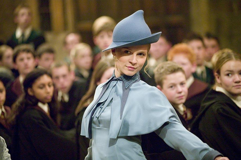 Beauxbatons Sihir Akademisi öğrencisi Fleur Delacour