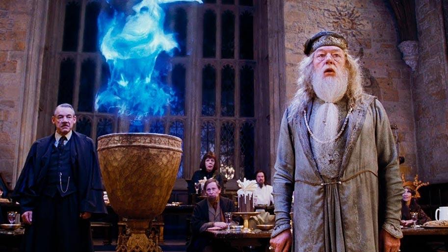 albus dumbledore ateş kadehi