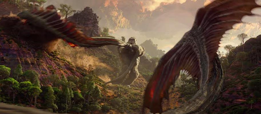 Godzilla vs Kong Nozuki ve Warbat