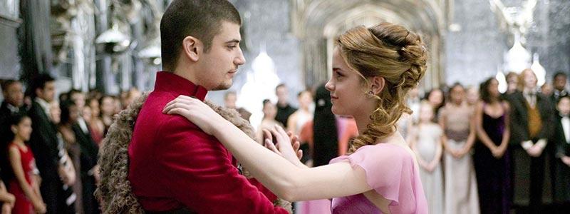 Viktor Krum ve Hermione Granger